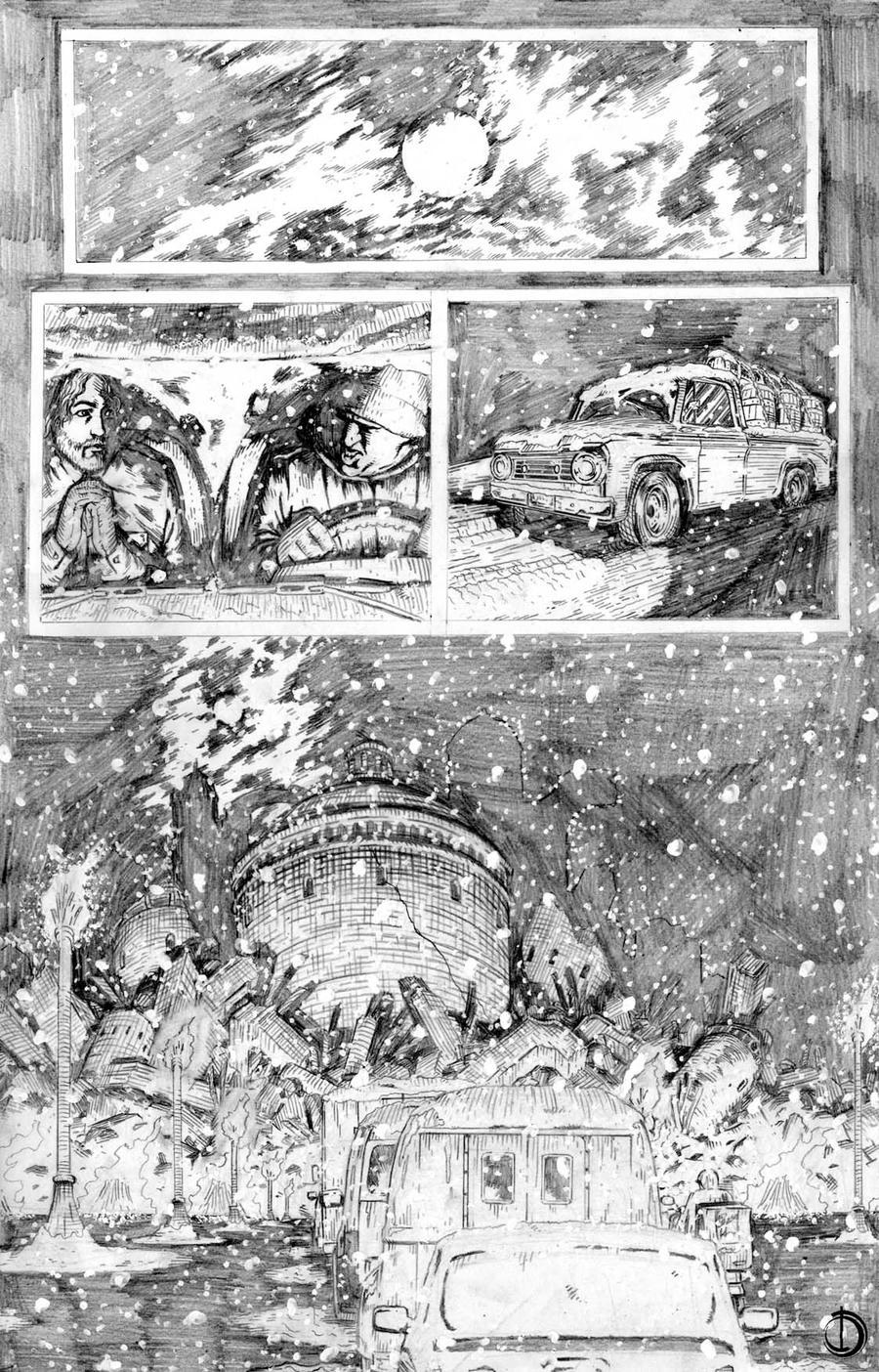 Thor page1 by santiagocomics