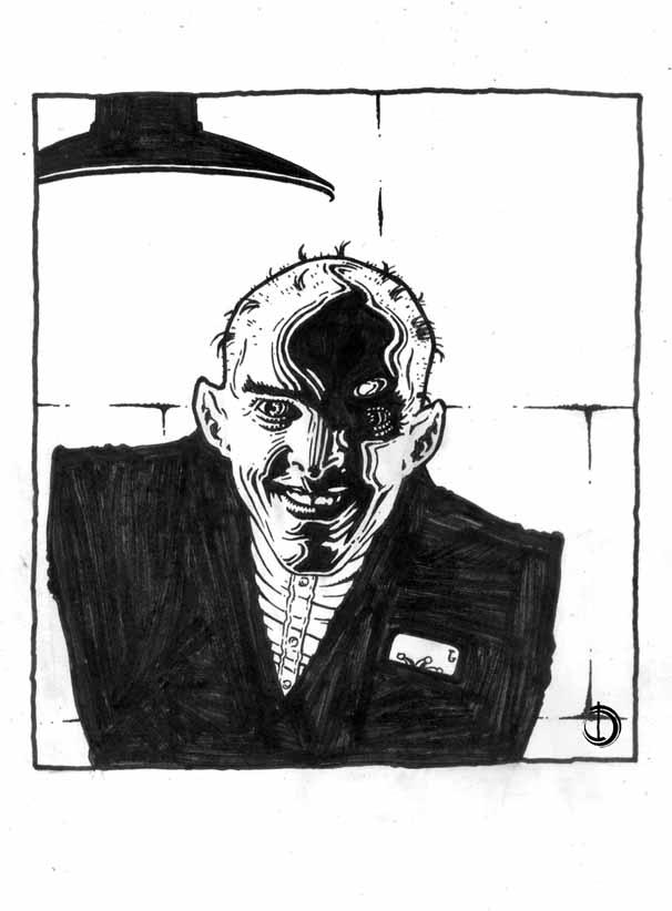 Joker ink by santiagocomics