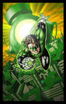 Green Lantern color 2