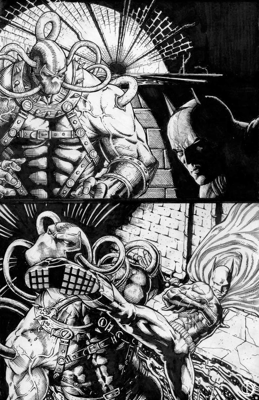Batman page by santiagocomics