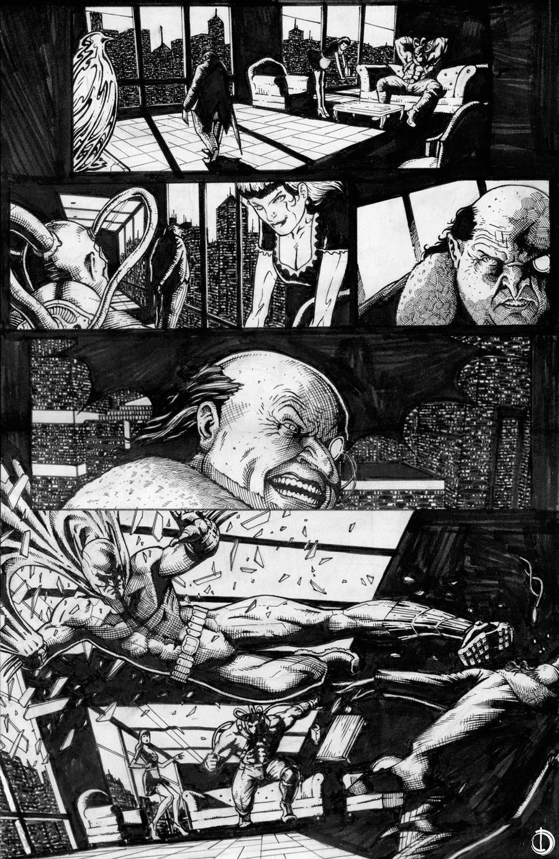Batman Sample page1 by santiagocomics