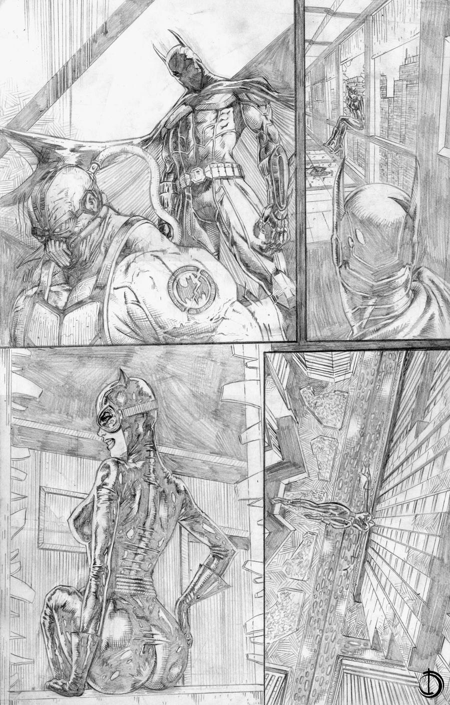 Batman Sample page3 by santiagocomics