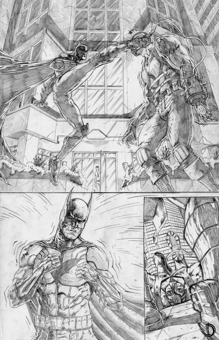 Batman Sample page5 by santiagocomics