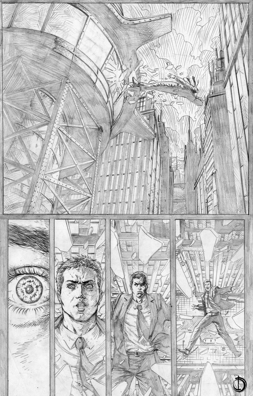 Batman Issue2 page2 by santiagocomics