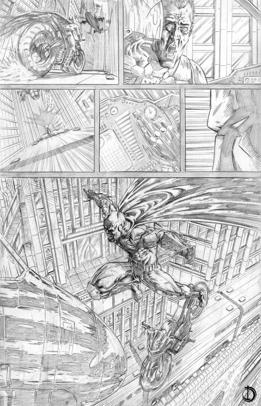 Batman Issue2 page5 by santiagocomics
