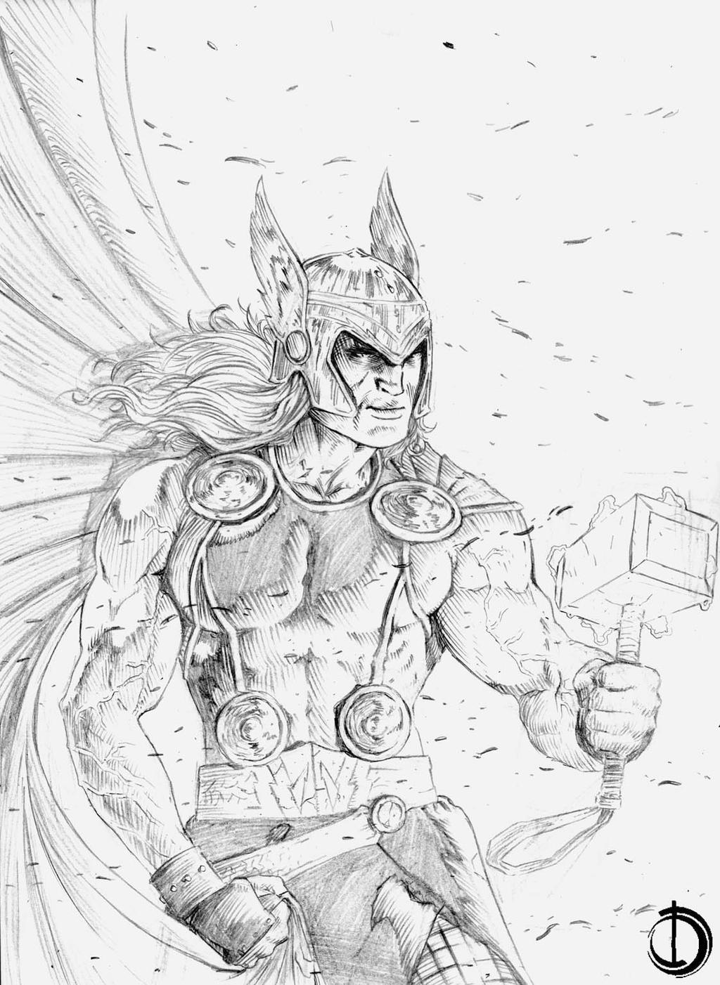 Thor  by santiagocomics