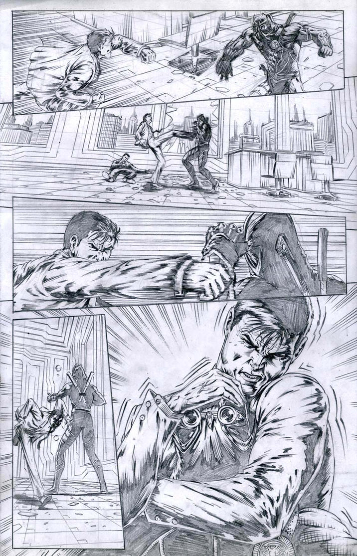 SanEspina Batman Issue2 page15 by santiagocomics