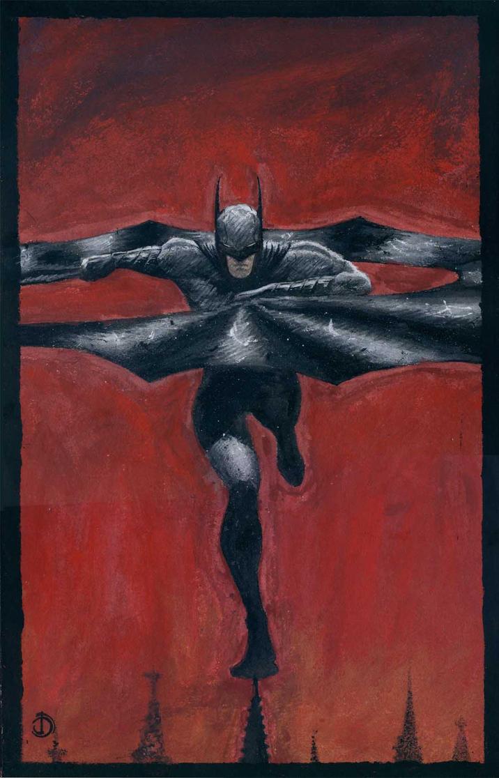 SanEspina Batman Color by santiagocomics