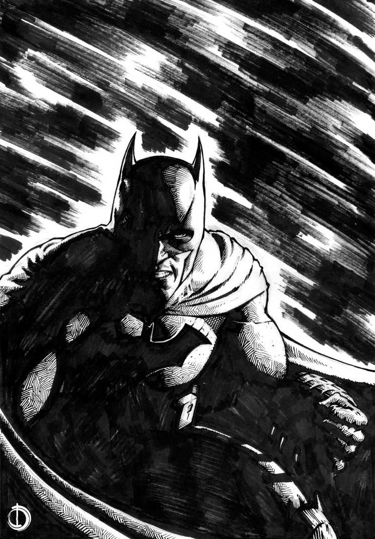 Batman Ink by santiagocomics