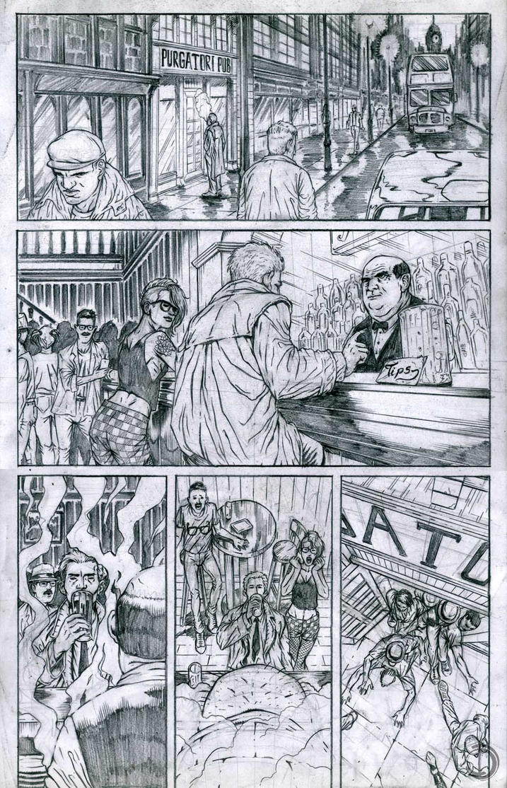 SanEspina Constantine TheAngryBarman Page1 by santiagocomics