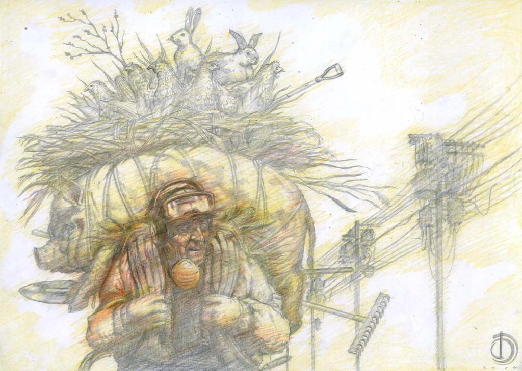 SanEspina Interestelar Ilustration by santiagocomics