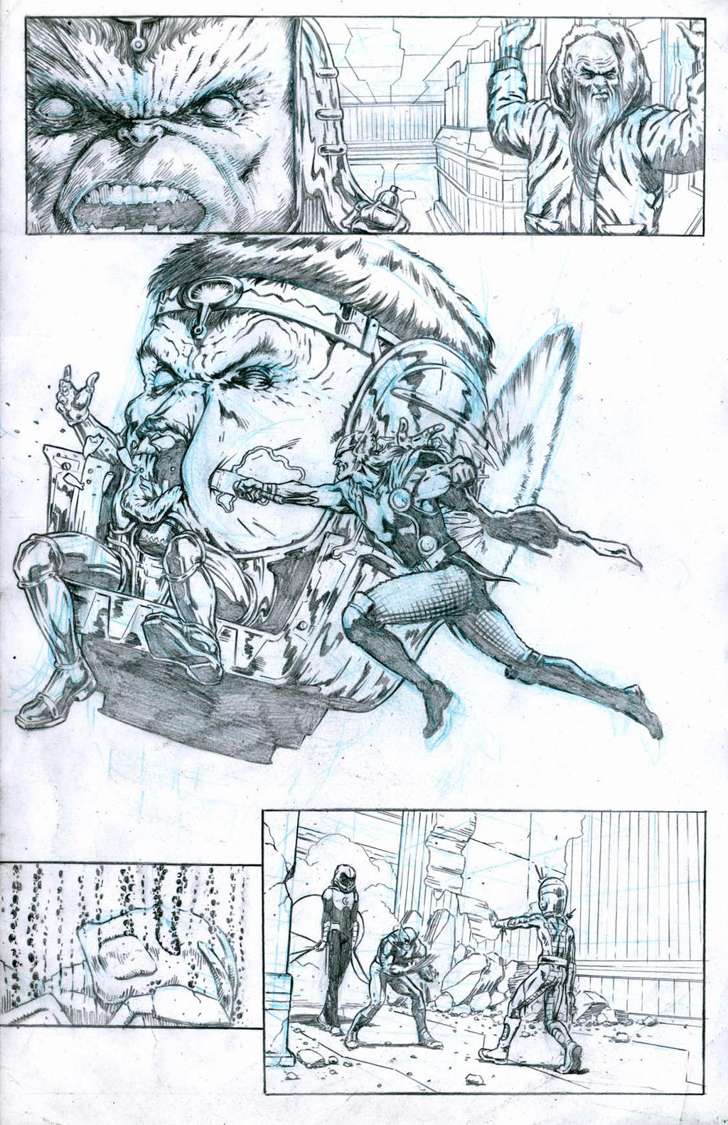 SanEspina Avengers page22 by santiagocomics
