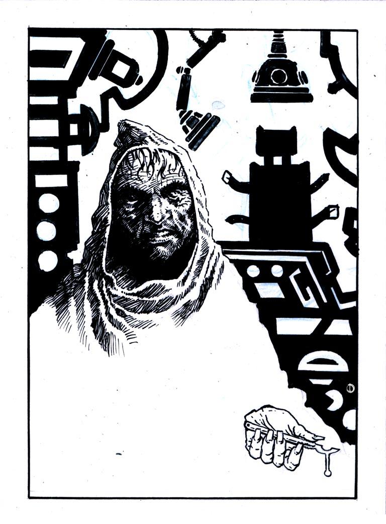 Desaad ink by santiagocomics