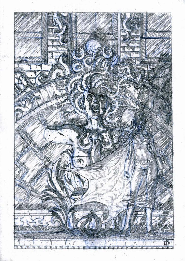 SanEspina Batwoman Cover by santiagocomics