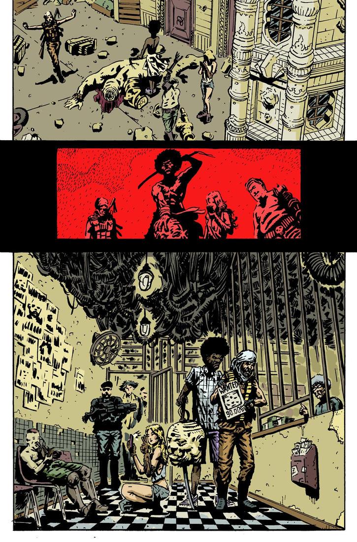 SanEspina Wanted page5 color by santiagocomics