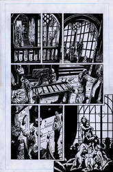 SanEspina BRPD TheSoulOfVenice page7 inks by santiagocomics
