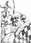 Clowns by santiagocomics