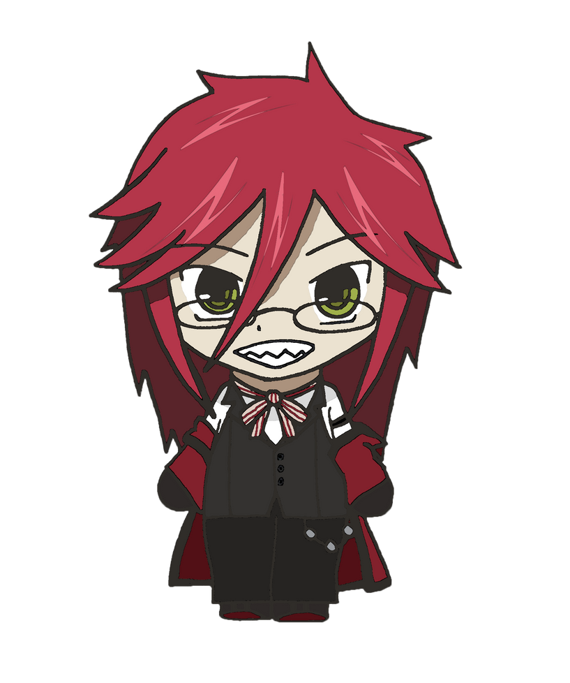 Black Butler - Chibi Grell by CandyAddict774 on DeviantArt