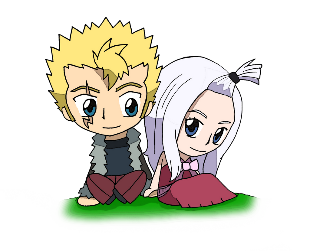 Fairy Tail Laxus And Mirajane By Candyaddict774 On Deviantart Laxus gets duped by mirajane into helping prepare for the festival. fairy tail laxus and mirajane by