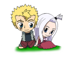 Fairy Tail - Laxus and Mirajane