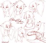 Shidare expression by SakuraCheetah