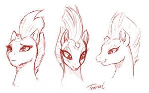 Tempest sketch by SakuraCheetah
