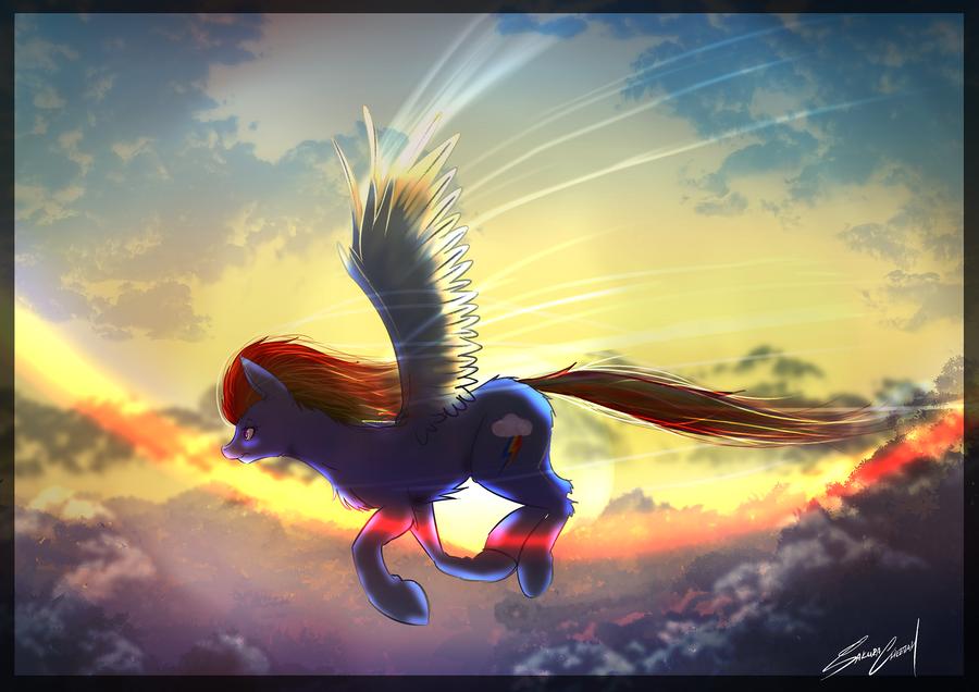 Wings (1HourDrawingChallenge) by SakuraCheetah