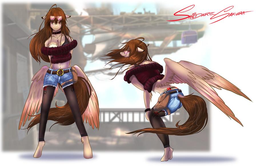 Shidare's Fashion by SakuraCheetah