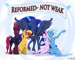 Reformed- not weak