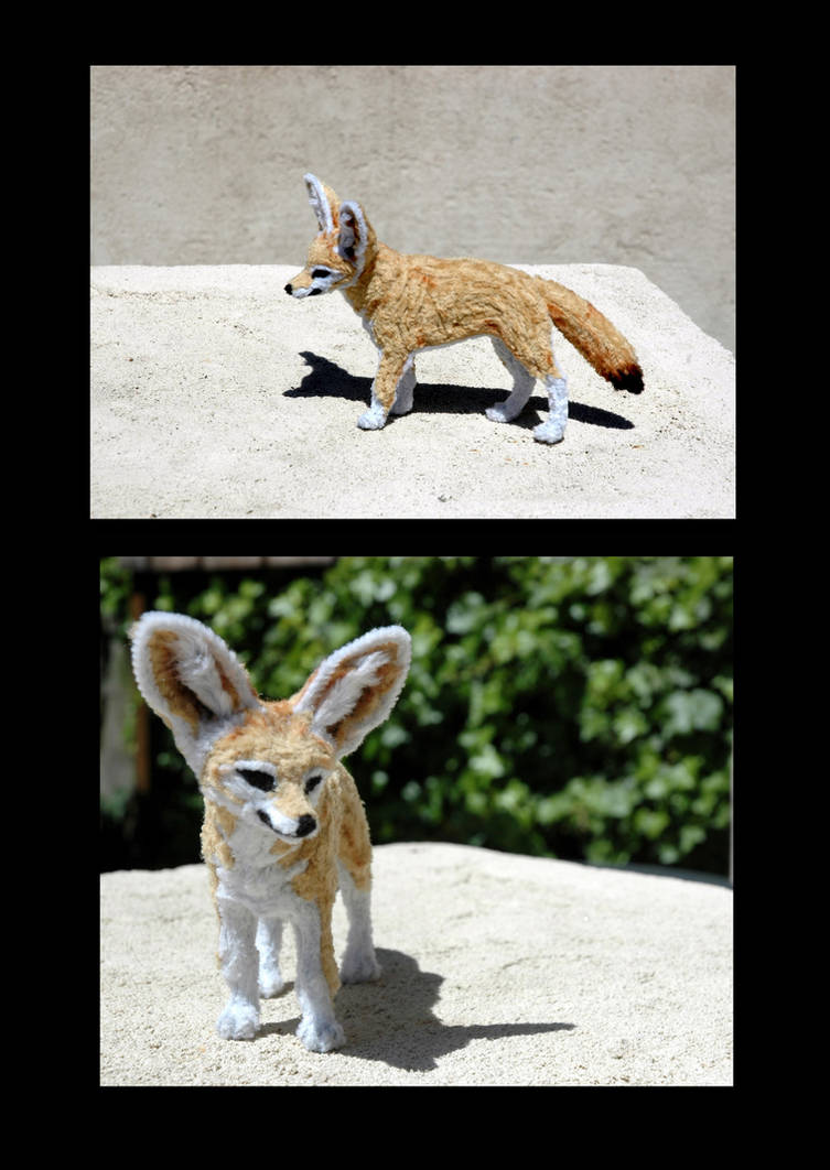 Pipe Cleaner Fennec