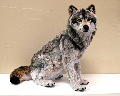 Pipe Cleaner Wolf