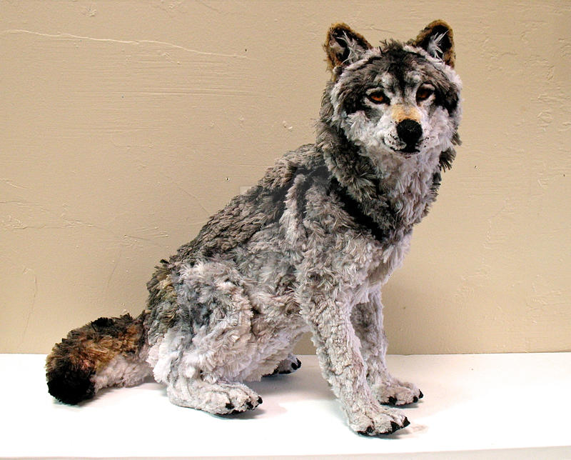 Pipe Cleaner Wolf by afiriti