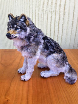 Small Pipe Cleaner Wolf