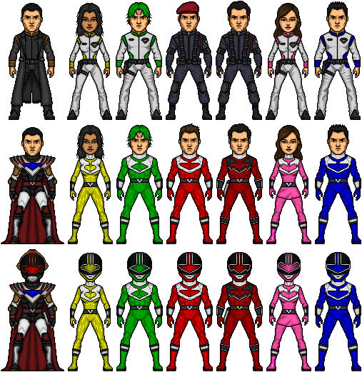Power Rangers Time Force By Kgoku28