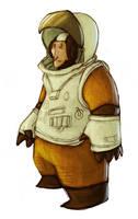 Astronaut... by Mensaman