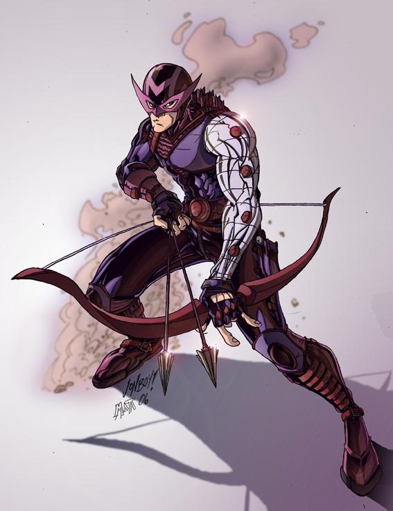 Jonboy's Hawkeye by Mensaman