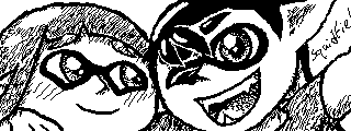 Miiverse - Squidfie! by InkiCrow