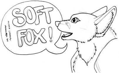 Softfox 'speechbubble'