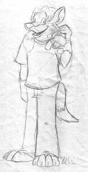 Early FoxyJim by LouveGarou