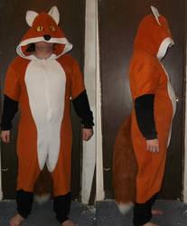 Foxy PJ with Tail
