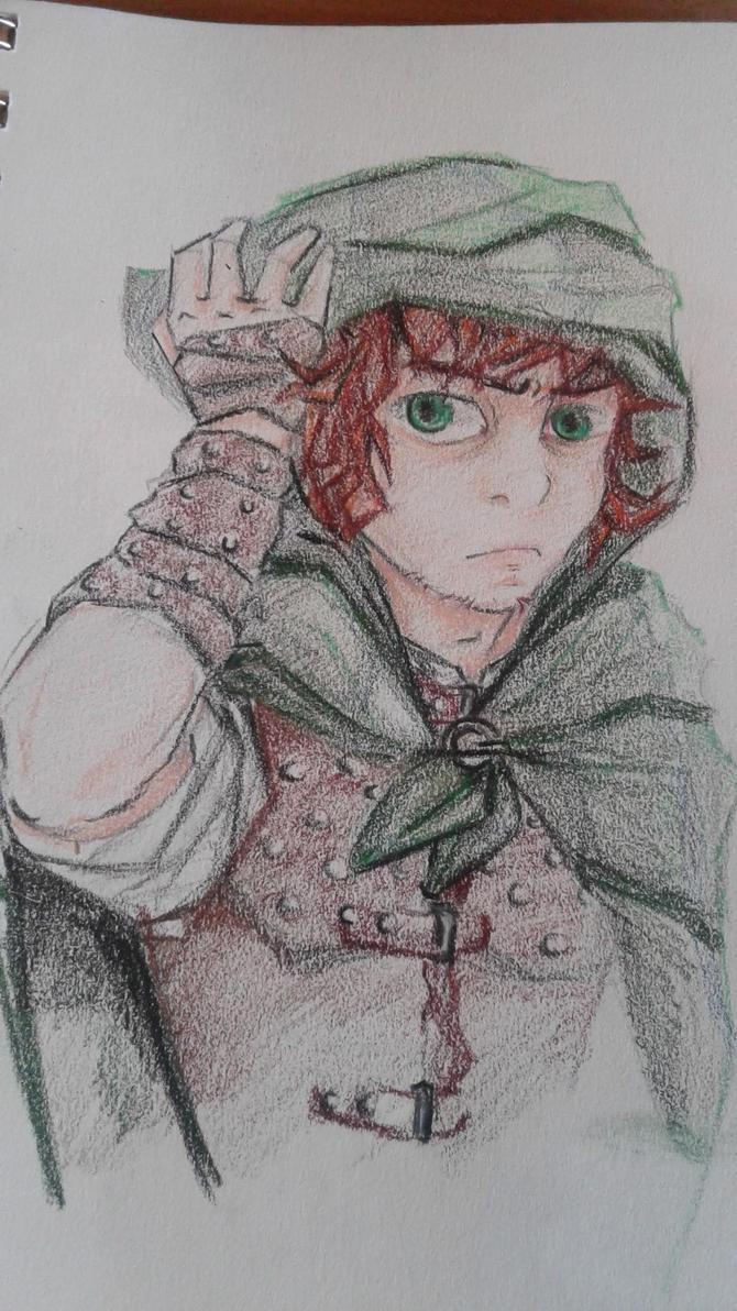 Faust Thornleaf by animedragon67