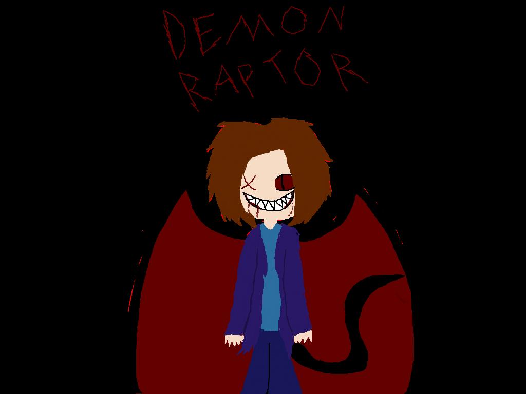 DemonRaptor by NeonTricksterSaphire
