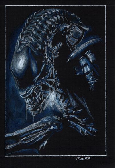 Alien by J-Redd