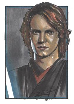 Anakin Skywalker - Sketch Card by J-Redd