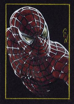 Spider-Man - Sketch Card by J-Redd