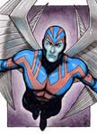 Archangel - X-Men Sketch Card