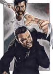 Logan and Victor - Sketch Card