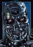 T-800 -Terminator Sketch Card