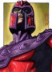Magneto - X-Men - Sketch Card