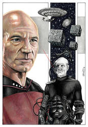 Picard - Locutus of Borg by J-Redd